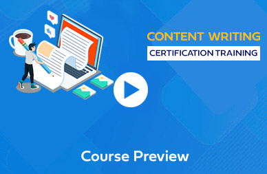 Content Writing Course in Chennai