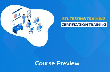 ETL Testing Online Training