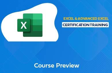 Advanced Excel Online Course