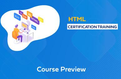 HTML5 Training In Chennai