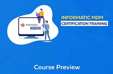 Informatica MDM Training In Chennai