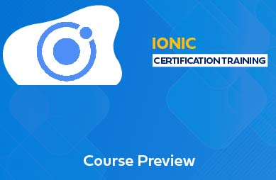Ionic Training In Chennai