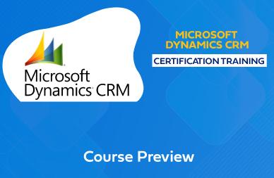 Microsoft Dynamics CRM Training in Chennai