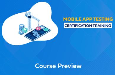 Mobile Testing Training In Chennai