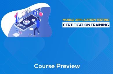 Mobile Application Testing Online Training