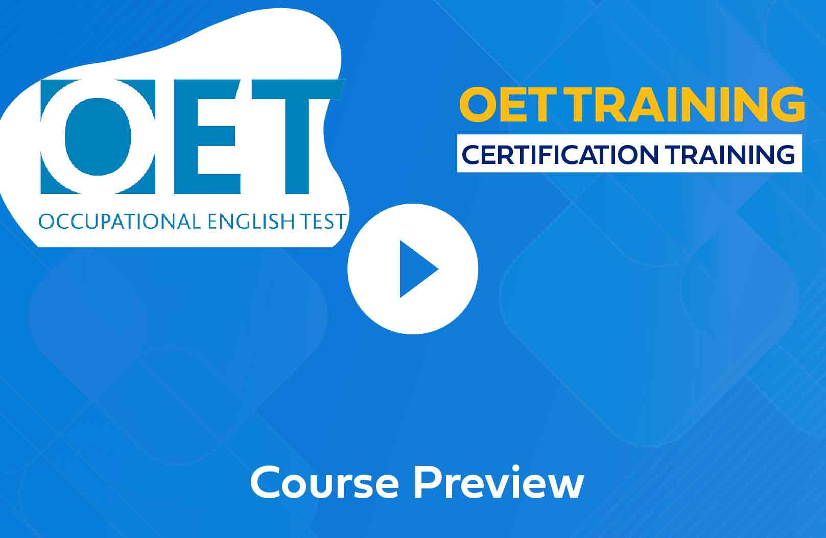 OET Coaching Centre in Chennai