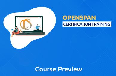 OpenSpan Online Training