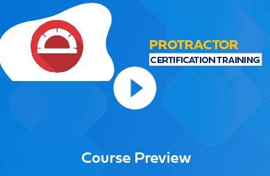 Protractor Training in Chennai