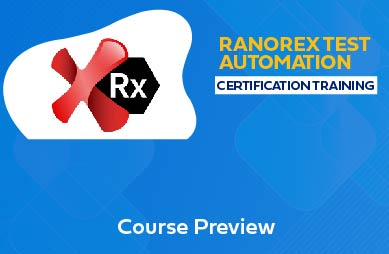 Ranorex Test Automation Online Training