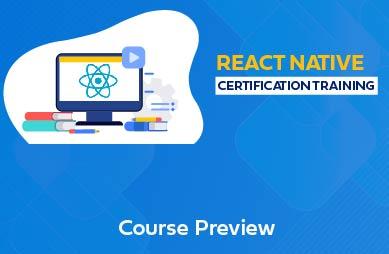 React Native Online Training