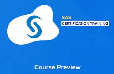 SAS Training in Chennai