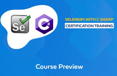 Selenium with C Sharp Online Training