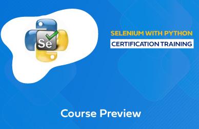 Selenium with Python Online Training