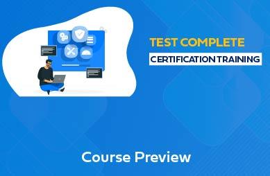 TestComplete Online Training