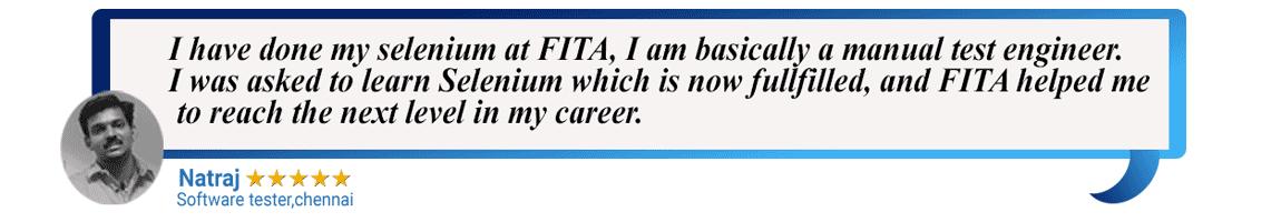 FITA : Java, Hadoop, Android, AngularJS, Selenium, Software Testing